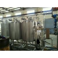 Buy cheap Automatic Control 3000L CIP Washing System SUS304 Material To Clean Pipe Tank product