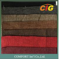 Buy cheap Plain Color Woven Style Sofa Upholstery Polyester Fabric With Coating on Backing product
