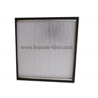 Buy cheap Aluminum Foil Pleat Hepa Air Filters For Air Conditioning Filtration System product