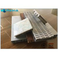 Buy cheap Perforated  6mm Side Length Aluminum Honeycomb Core Anti-Static Composite Floor from wholesalers