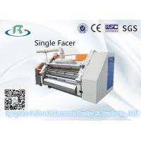 Buy cheap 50-180M/MIN  Fingerless Model High Quality Automatic Single Facer Corrugated Machine For Production Line from wholesalers