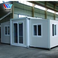 Buy cheap luxury prefab homes modern garden 40 ft expandable container house product