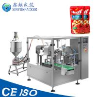 Buy cheap Automatic Liquid Pouch Packing Machine , Ketchup Packaging Machine Compact Design from wholesalers