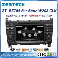 Buy cheap ZESTECH Wholesales 2 din double din car dvd for mercedes-benz clc w203 navigaiton system satellige gps from wholesalers