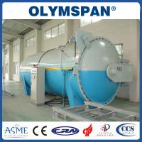 Buy cheap Food industry Laminated Glass Autoclave Aerated Concrete / Autoclave Machine Φ2m from wholesalers