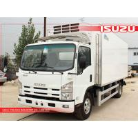 Buy cheap Japanese Isuzu Refrigerated van trucks for Africa from wholesalers