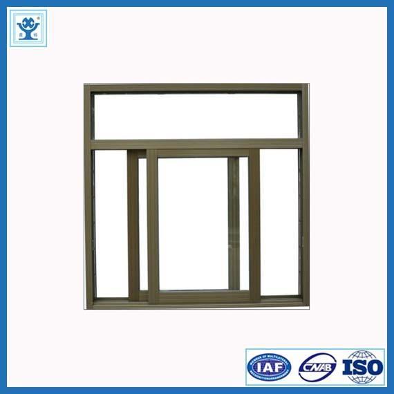 Top Quality Sliding Windows : Best quality wood finish extruded aluminum sliding