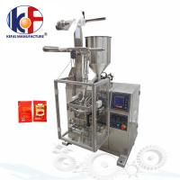 Buy cheap Manufacturing automatic tomato paste sachet packing machine price ketchup packing machine from wholesalers