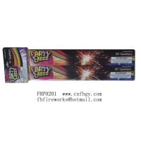 Buy cheap 10' golden sparkler fireworks, party gold sparkler,party popper,shape sparkler from wholesalers