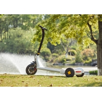 Buy cheap 45Km Mileage ABS Shell Electric E Scooter For Daily Travel from wholesalers