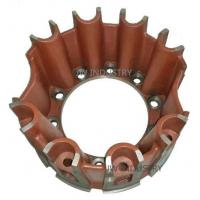 Buy cheap Spider hub eight blades/ribs wheel hub trailer parts ductile iron casting sand mould casting from wholesalers