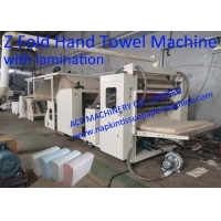 Buy cheap Automatic Z Fold Paper Towel Machine With Lamination, Z Folding Hand Towel Machine With Lamination from wholesalers