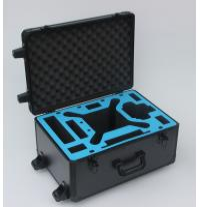 China DJI Phantom 3 Aluminum Hard Case Black Trolley With Wheels 5.5 Kgs Fireproof on sale
