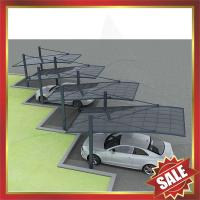 Buy cheap beautiful modern carport,new style aluminium alloy parking car shelter,canopy,awning,cover shield-Super durable!!! from wholesalers