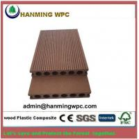 Buy cheap 2018 wood plastic composite flooring, high quality low price hollow soild wpc decking floor, outdoor flooring wpc deckin from wholesalers