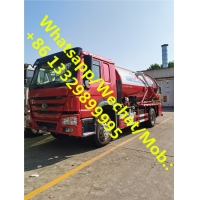 Buy cheap Customized CLW brand HOWO RHD 8CBM vacuum suction truck for sale, good price HOWO sewage suction truck for sale from wholesalers