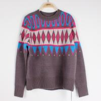 Buy cheap Casuel Jacquard Sweaters For Women Aran Christmas Knit Jumper  Knit Pattern from wholesalers