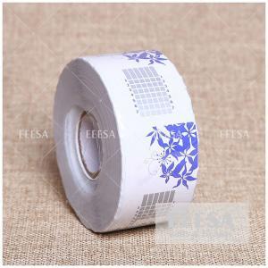 Buy cheap Factory OEM 500PCS Custom Extension Rectangle Shape Nail Acrylic Form UV Nail Art Form product