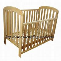 Buy cheap sleigh wooden baby cot from wholesalers