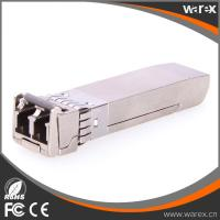 Buy cheap Excellent Brocade 10G CWDM SFP+ 1470nm-1610nm 40km Transceiver from wholesalers