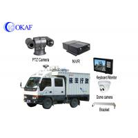 Buy cheap Strong Light Vehicle PTZ Camera Roof Mounted Forensic Display 360 Degree Rotation from wholesalers