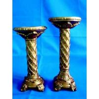 Buy cheap polyresin candle stick (candle holder) from wholesalers
