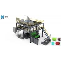 Buy cheap Spunbond  Non Woven Fabric Making Machine / Shoes Bags PP Bag Making Machine from wholesalers