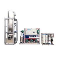 Buy cheap 20 Tons / Day Ice Tube Machine Large Production Ice Making Machines from wholesalers