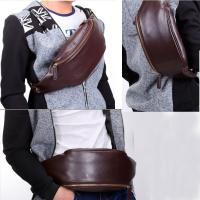 Buy cheap Men's Sport PU Waist Bag PU Leather Belt Bag from wholesalers