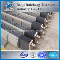 Buy cheap Electroplating wastewater treatment titanium anodes from wholesalers