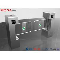 Buy cheap Waterproof Stainless Swing Gate Turnstile Biometric System Access Control Entrance product
