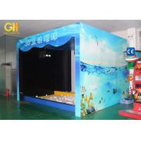Buy cheap Indoor Amusement Park 3D Game Machine For Kids AR Ball Hitting 3D Wall Projection product