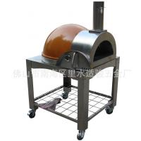 Buy cheap Cooking Tools Big Discount Stainless Steel Wood Fired Used Bakery Equipment Pizza Oven Orange from wholesalers