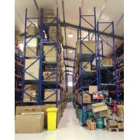 Buy cheap Adjustable Industrial Storage Racks / Galvanized Shelving Racks from wholesalers