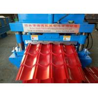 Buy cheap Automatic  Glazed Tile Roll Forming Machine With 7.5kw Main Motor Power from wholesalers