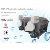 Buy cheap Stainless Steel Horizontal Industrial Washer / High Capacity Washing Machine from wholesalers