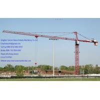 Buy cheap 10 tons Q345B Steel China Building Tower Crane With 53m Lifting Height TCP6512-10 from wholesalers