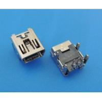 Buy cheap 5pf 4pin Long Pin Micro USB Connector High Temperature Fast Transfer For Computer Machine from wholesalers