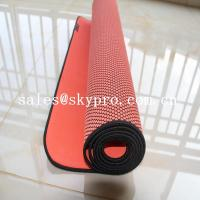Buy cheap Eco - Friendly Gym Mat Odorless Natural Rubber Sheet Soft Exercise Yoga Mat product
