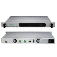 Buy cheap CATV AC 90V/220V C-Band Fiber Optical Amplifier with SAT-IF Input EDFA from wholesalers