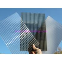 Buy cheap Anti-drip 2 layer Hollow Polycarbonate Sheet 10 Years Guarantee from wholesalers