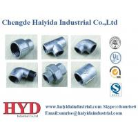 Buy cheap TEE galvanized malleable iron pipe fitting cast iron UL factory from wholesalers