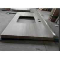 Buy cheap Wooden Marble Prefabricated Vanity Countertops Elegant Appearance For Hotel from wholesalers