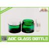 Buy cheap Vintage Green Screw Plastic Lids For Skin Cream Glass Jars,15ml Green Glass Skin from wholesalers