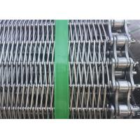 Buy cheap Customized Stainless Steel Wire Mesh Conveyor Belt With Chain SGS Listed from wholesalers