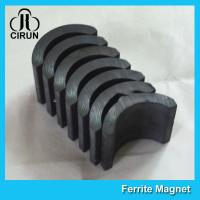 Buy cheap Small Permanent Arc Segment Ferrite Magnet Y25-Y35 For Motorcyceles Motor from wholesalers