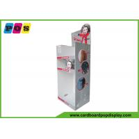 Buy cheap Portable Floor Cardboard Display Stands For Hair Dryer And Hair Straightener from wholesalers
