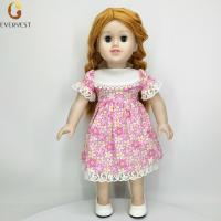 Buy cheap 2018 Custom Hot Vinyl Silicone American Beautiful Girl Doll For Sale from wholesalers