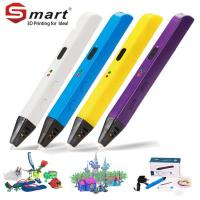 Buy cheap DIY 3d Stereoscopic Printing Pen, 3d pen with ABS refills for Sale from wholesalers