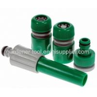 Buy cheap Plastic 2-function garden hose nozzle set with low price. from wholesalers